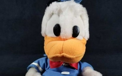 Vintage Donald Duck Plush Stuffed Toy
