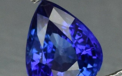 0.30 ct. Natural Blue Cornflower Sapphire - SRI LANKA