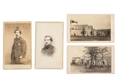 Civil War CDVs of Lovell Gen'l Hospital & Medical Staff