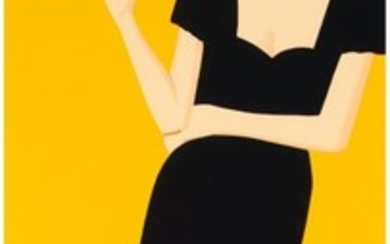 65051: Alex Katz (b. 1927) Cicely, from Black Dress ser