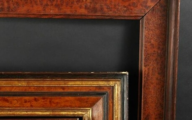 "A 19th Century Maple Veneered Frame, 20"" x 16"""