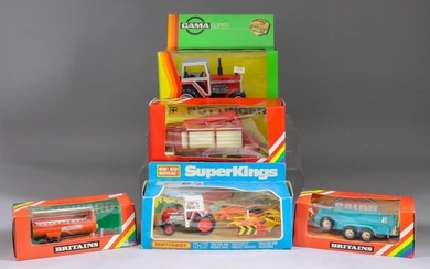 A Large Mixed Collection of Britain's and Other Diecast...