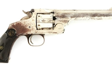(A) SMITH & WESSON NEW MODEL 3 .44 RUSSIAN REVOLVER.