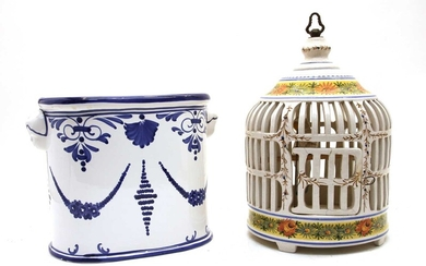 A collection of Continental ceramics