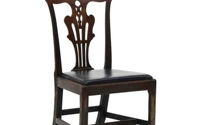 Antique Chippendale Mahogany Side Chair