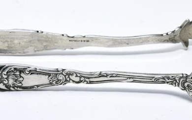 Antique Gorham Sterling Silver Sugar Tongs