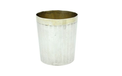Antique large cup- .950 silver - France - Early 19th century