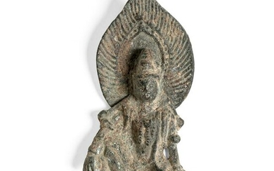 BRONZE VOTIVE FIGURE OF WATER-AND-MOON GUANYIN SONG