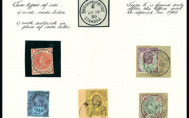British Levant: British Post Offices in the Turkish Empire: Stamboul