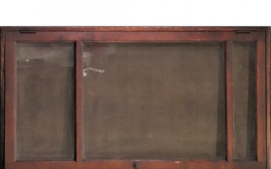 C.1900 Turn of Century Country Store Table Top Showcase