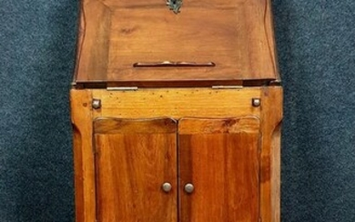 Ceremonial writing cabinet - with multiple functions - Louis XV Style - Walnut - First half 20th century