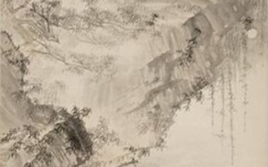 Chinese Landscape Painting by Kuang Jietao