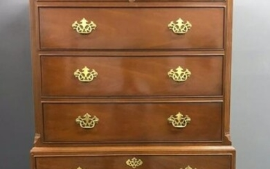 Chippendale Style Chest-on-Chest