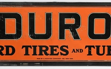 Duro Cord Tires & Tubes by Kenton sign (TAC)