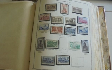 France 1900/1966 - Collection of French stamps. - Yvert