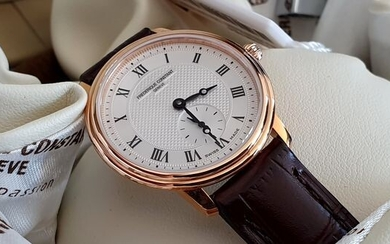 Frédérique Constant - Luxury lady Gold plated classic watch Unworn new- Women - 2011-present