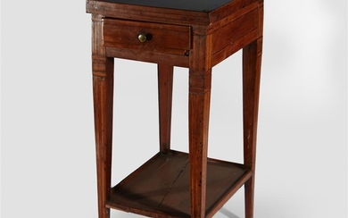 French Provincial fruitwood small side table 19th Century Having...