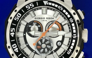 "Giorgio Fedon 1919 - Deep Sea Timer Diver WR 1000M Swiss Quartz- GFAL001 ""NO RESERVE PRICE"" - Men - BRAND NEW"