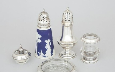 Group of English and North American Silver, 20th