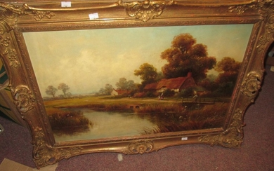 Late 19th century oil on canvas by George Turner (1843 -1910...