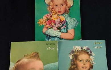 Lot Of Three 1950s Songbooks For Children