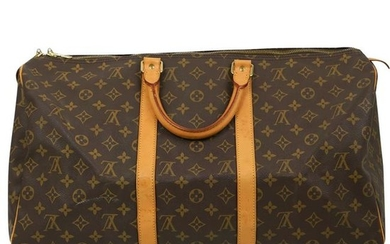 Louis Vuitton Monogram Leather Travel Bag