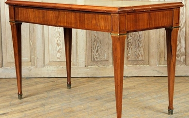 MAHOGANY WRITING DESK MANNER JEAN-MICHEL FRANK
