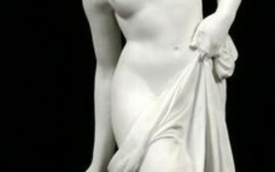 MEISSEN BISQUE SCULPTURE VENUS