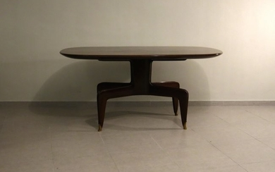 Mid-Century Wooden Dining Room Table, Italy