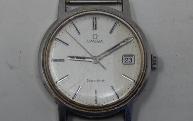 Omega Geneve Automatic Gentleman's Wristwatch with sweep sec...