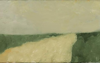 Outstretched landscape by Armando's hand