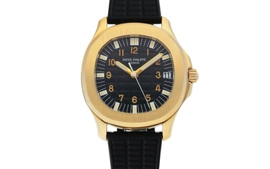 PATEK PHILIPPE | AQUANAUT, REF 5065 YELLOW GOLD WRISTWATCH WITH DATE CIRCA 2000