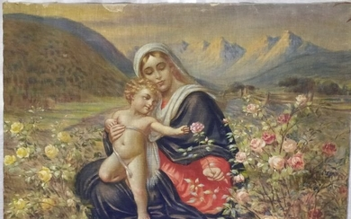 Painting (1) - canvas - Early 20th century