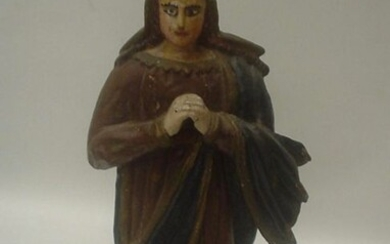 """Sculpture, """"Our Lady of Sorrows"""" (36 cm - 14 inches) - Wood - 18th century"""