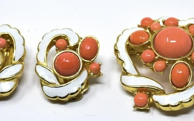Set of Vintage Costume Jewelry by Polcini