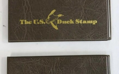 THE U.S. FIRST DAY OF ISSUE DUCK STAMP PAIRING
