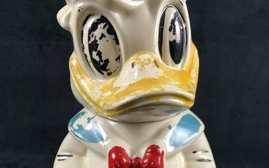 Vintage Turnabout Donald Duck Jose Caroica Cookie Jar