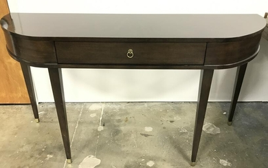 Walnut Toned Console Table