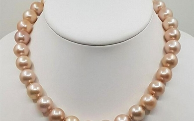 12x14.5mm Beautiful Colour Edison Pearls - Necklace