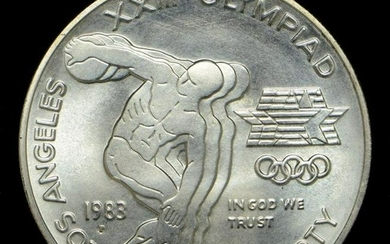 1983-P Olympic Collectible Silver Dollar
