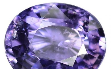 2.22 ct. Natural Unheated Purple Sapphire - AFRICA