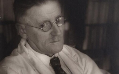 BREITENBACH, JOSEPH James Joyce, Paris