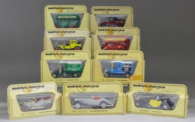 """A Large Mixed Collection of Matchbox """"Models of Yesteryear""""..."""