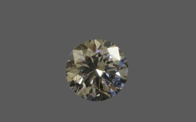 A Loose Round Brilliant Cut Diamond, weighing 0.76 carat approximately...