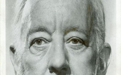 ALEC GUINESS: (1914-2000) English Actor, Academy Award winner. Signed...