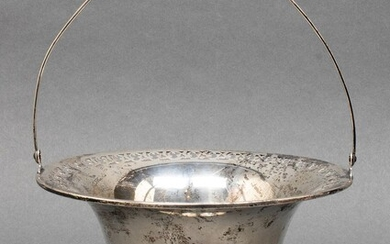 American Sterling Silver Table Basket