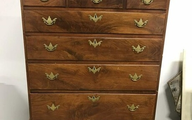 Antique Traditional Highboy Chest