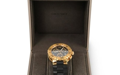 Chaumet Class One 18k Gold Chronograph Watch