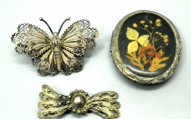 Collection of 3 Vintage Jewelry Items