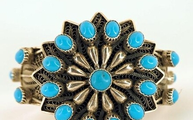 Egyptian jewelry - bracelet made of sterling silver and